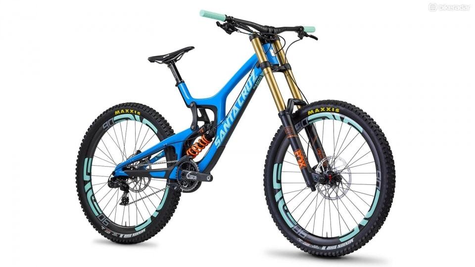 This year's most wanted downhill bike: the santa cruz v10: