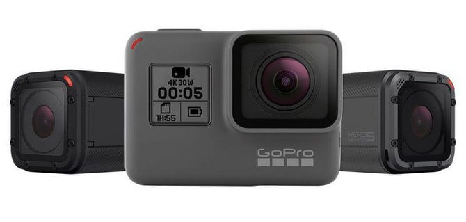 GoPro Hero 5 Black & Session